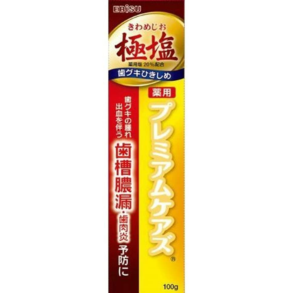 側北優遇【まとめ買い】エビス プレミアムケアズ 100g EP-0100 (医薬部外品)【×3個】