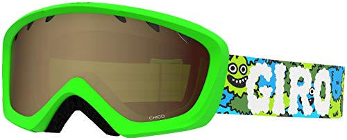 Giro Chico Youth Snow Goggles - Lilnugs Strap with Amber Rose Lens (2021)
