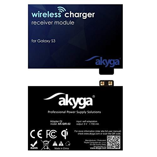 Akyga AK-QIR-02 QI draadloze oplader ontvanger ontvanger adapter voor Galaxy S3