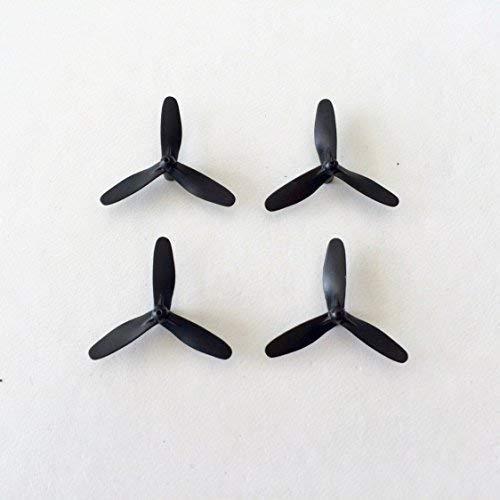 Ersatzteil Rotorblätter 3-Blatt X-UFO 4 68085 X-UFO 4 PRO 68047 X-UFO NEO 4 68215 Mini Quadrocopter schwarz Starkid 68660 990226