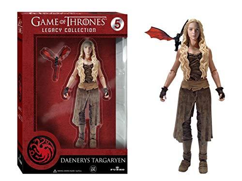 Funko 3907 - Figura de acción Daenerys Targaryen, Juego De Tronos - Figura Juego de Tronos Daenerys (15cm)