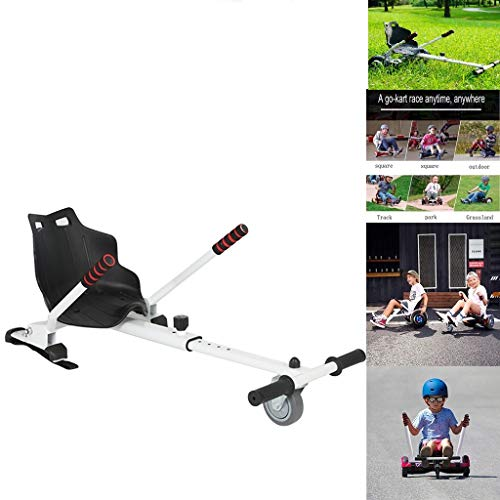 SMIDOW Attachment for Electric Scooter, Transform Your Hoverboard Into Go-Kart,...