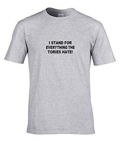 Ice-Tees - I Stand for Everything The Tories Hate - Camiseta juvenil para niña