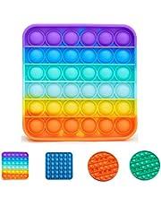 Narsam Pop It Bubble Fidget Toy, Gioco Antistress Rilassante per Adulti e Bambini Giocattolo sensoriale Contro ansia e Stress