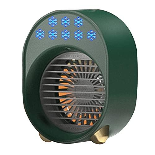 WSWD Mini acondicionador de Aire de Ahorro de energía portátil Dormitorio de hogar Pequeño refrigerador de Aire Conector USB Variedad Adecuada Fuentes de energía