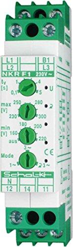 Schalk Netz-Überwachungs-Relais NKR F1 m.Drehf. 3x230/400V Spannungsüberwachungsgerät 4046929301060