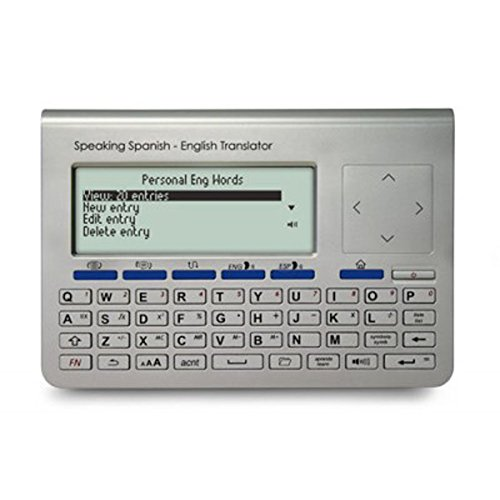 Franklin Electronic Passport Speaking English Spanish Translator