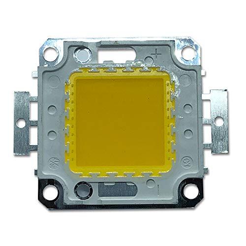 100W High Power LED Chip Blanco Cálido