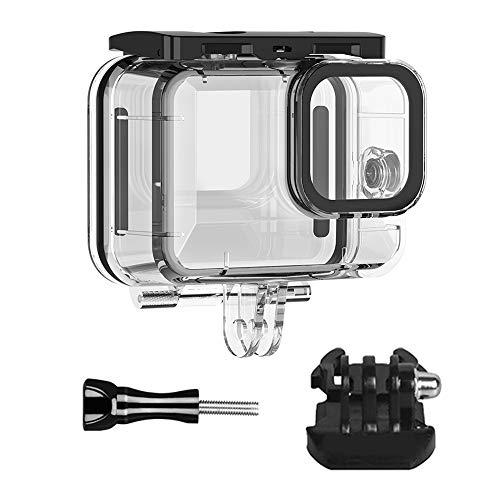 Flycoo2 Wasserdichte Schutzhülle für GoPro Hero 9 Action-Kamera, Unterwasserschutz, 50 m, mit Quick-Release und Zubehör-Set