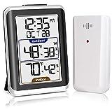 Best Indoor Outdoor Thermometers - GEEVON Indoor Outdoor Thermometer Wireless Digital Hygrometer Temperature Review