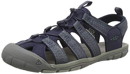 KEEN Herren CLEARWATER CNX Sandale, Blue/Steel Grey, 43 EU