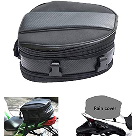 Luggage Side Tail Bag Saddlebag Parts Accessories Motorcycle Back Seat Carry Bag