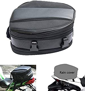 Motorcycle Tail Bag, Meago Multifunctional Sport Seat Bag Nylon Luggage Bag Motorbike Back Seat Bag Tear-Resistant Motorbi...