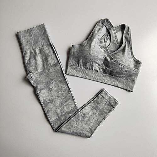 Leggings Deportivos Pantalones Conjunto De Yoga Sin Costuras