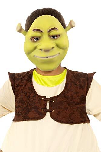 Smiffys 52356 officieel gelicenseerd Shrek EVA-masker, jongens, groen, één maat