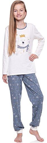 Merry Style Pijama Largo de 2 Piezas Niña Adolescente 1154
