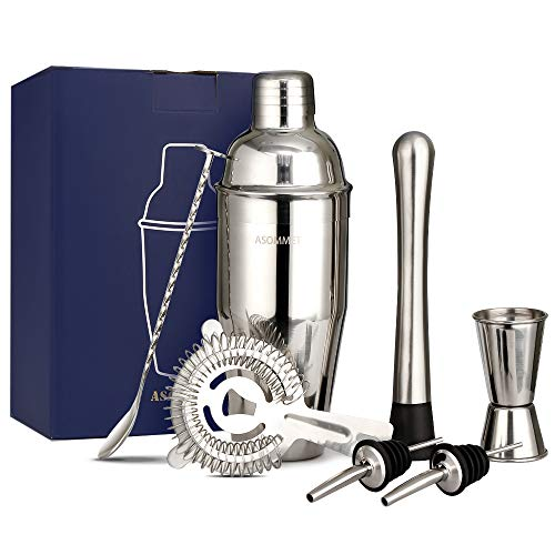 Set Cocktail Shaker Manhattan In Acciaio Inossidabile 750ml Resistente Alla Ruggine