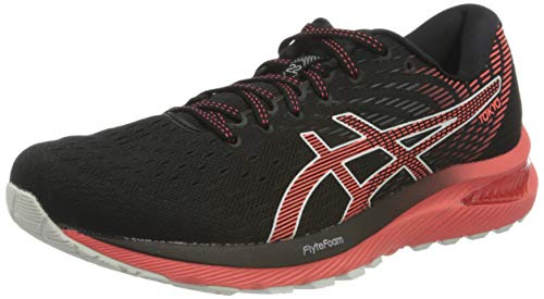 Asics Men's Gel-Cumulus 22 Tokyo Running Shoe, Black/Sunrise RED, 7.5 UK