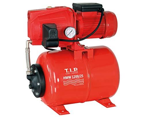 T.I.P. 31111 HWW 1200/25 Hauswasserwerk, 1200 W, rot