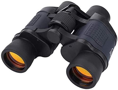 Prisma BAK4 De Alta Potencia De 60 × 60 Grados Binocular Portátil De Alta Definición para Día/Noche con Lente De 35 Mm De Diámetro para Campamentos En Interiores Y Exteriores