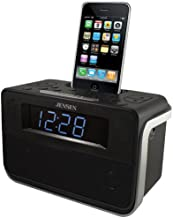 Jensen Docking Digital Music System/Alarm with Auto Time Set for iPod and iPhone (Black) photo