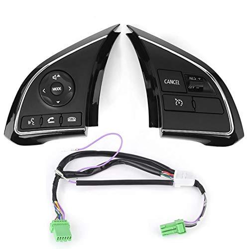 Interruptor de control Volante, botón de control del volante Interruptor multifunción Cru-ise apto para Out-lander 16-20