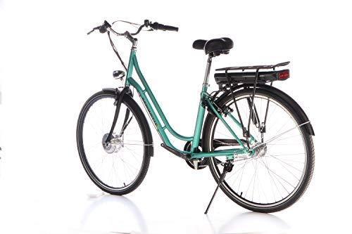 "412y3KXSofL - SAXONETTE Fashion Plus 28"" Retro E-Bike 11,6 Ah 7-Gang Shimano Pedelec Elektrofahrrad"