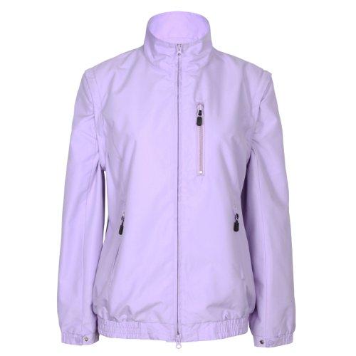 Tres Bien Golf Women's 2 in 1 Convertible Jacket/Vest (Medium, Lilac)