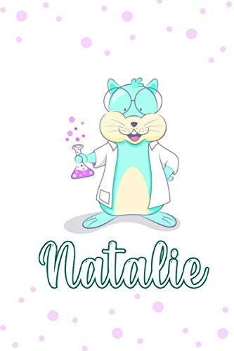 Natalie : Cute Mouse Journal: Notebook With Name On Front Cover, 120 pages College Ruled Notebook Journal & Diary for Writing & Note Taking for Girls ... Personalized Notebooks For Girls And Women)