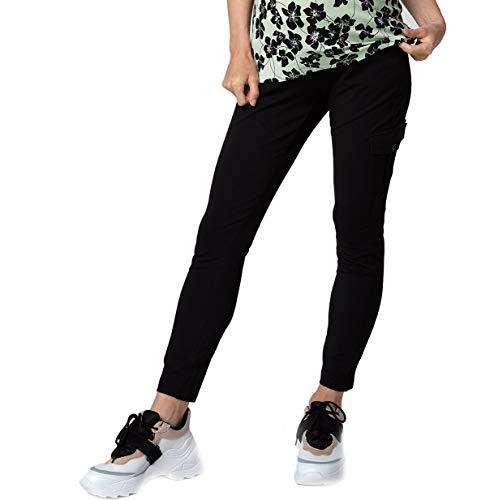 ESPRIT Maternity Leggings Cotton/Mix Damen Umstandsmode Strümpfe/Strumpfhose M84101 (L/XL (40-44), Medium Brown)