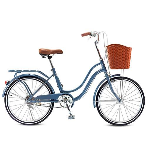 MC.PIG Bicicleta Femenina Urbana Adulto- 22 Pulgadas Damas B