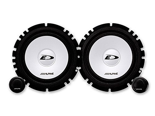 Alpine Auto Lautsprecher Kompo System 200 Watt VW Golf VI 6 alle Einbauort vorne : Türen/hinten : Türen/Seitenwand Rücksitz