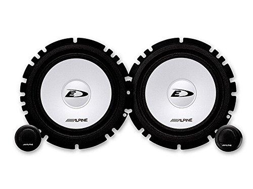Alpine Auto Lautsprecher Kompo System 200 Watt Opel Meriva A (X01) ab 5/10 Einbauort vorne : Türen/hinten : -