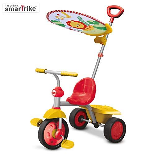 Fisher-Price - Fp3300133 - Tricycle - Smart Trike Glee Plus - Rouge/Blanc/Jaune
