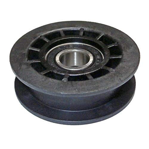 HASMX 587969201 Metallic Idler Pulley for Husqvarna Fits LC356VB LC221A LC221AH LC221RH HU700H HU800H Poulan P160RWD PR675AWD + ReplacesReplaces Part Number 5879692 and 580364301