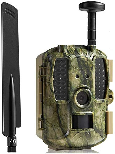 YUKM Cámara del Juego De La Cámara A Prueba De Agua, 12MP 1080P con Detector De Movimiento Visión Nocturna IP66 Spray para La Naturaleza Al Aire Libre, Jardín, Vigilancia De Seguridad En El Hogar