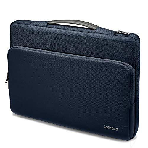 "tomtoc Recycelt Laptop Tasche für 13"" MacBook Air M1, 13"" MacBook Pro M1, 12,4"" Surface Laptop Go, 12,3"" Surface Pro X/7, Dell XPS 13, 12,9"" iPad Pro 2018-2021, Notebook Laptophülle Aktentasche"