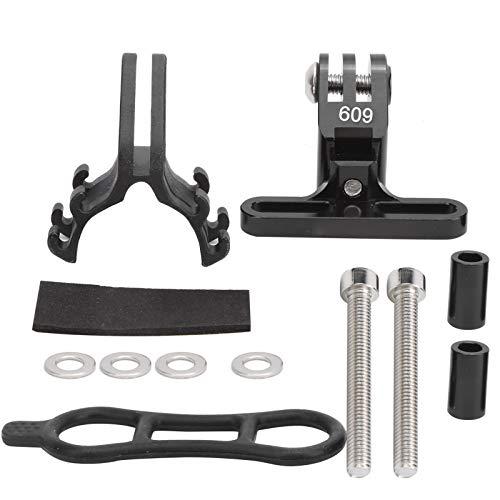zhuolong Adaptador de cámara de acción de aleación de Aluminio 609 Compatible con Soporte de Manillar de extensión de Soporte de Bicicleta GoPro