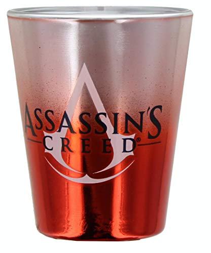 JUST FUNKY Assassin's Creed Logo 1.5oz Shot Glass