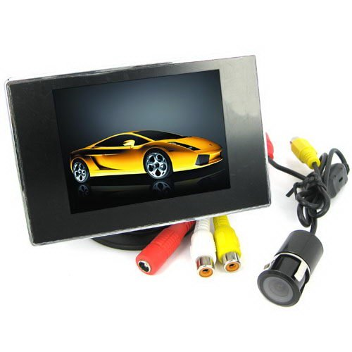BW® HD TFT-LCD Moniteur Système avec 8,9 cm Écran LCD et appareil photo vue arrière
