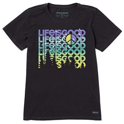 Life Is Good Concasseur pour Femme, Femme, 65178, Noir Profond, L