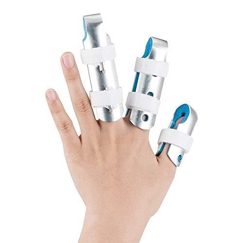 Finger Schiene Splints, GoHist Finger Ruhigstell-Schiene mit Weichem Schaumstoff für Finger Sehnen Release und Schmerzlinderung 3 Packungen
