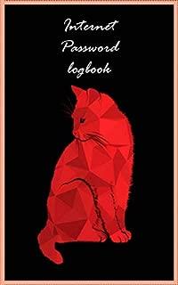 Internet Password Logbook: Internet Password Logbook  record Address Organizer Keeper Protect Usernames