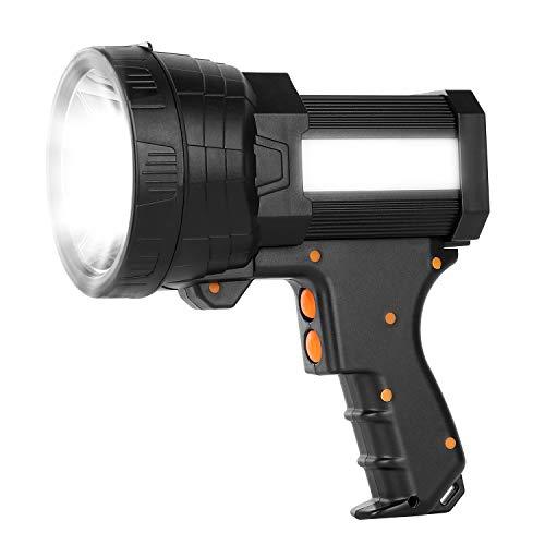 Super Bright Flashlight Rechargeable Marine Spotlight