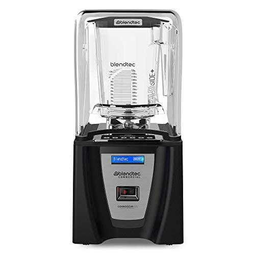 Blendtec Connoisseur 825 Blender with WildSide+ Jar (96 oz) Includes Q Series Sound Enclosure, Strongest & Quietest Commercial-Grade Power, 30 Pre-programmed Cycles, Black
