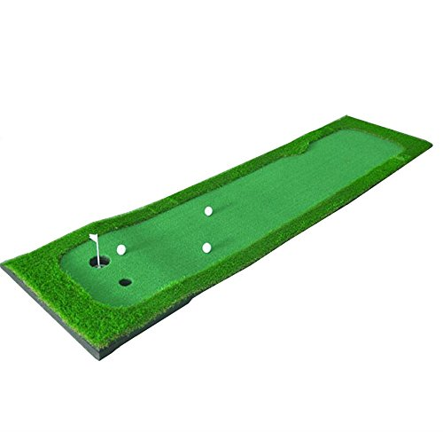 Great Deal! RFJJAL Large Golf Grass Practice Mat Driving Chipping Pitching Putting, 0.75×3 M