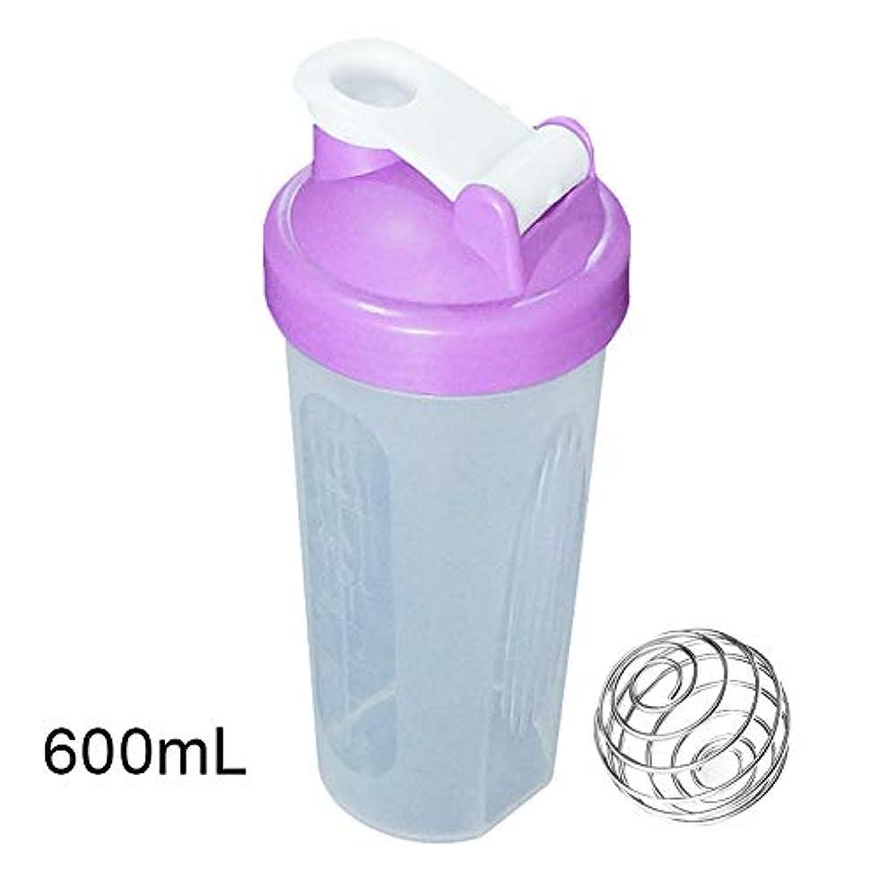 ほこり誇りに思うスローTuonar 400 / 600ml蛋白質の粉の混合のコップは感動的な球が付いている漏出防止の振動ボトルを密封しました