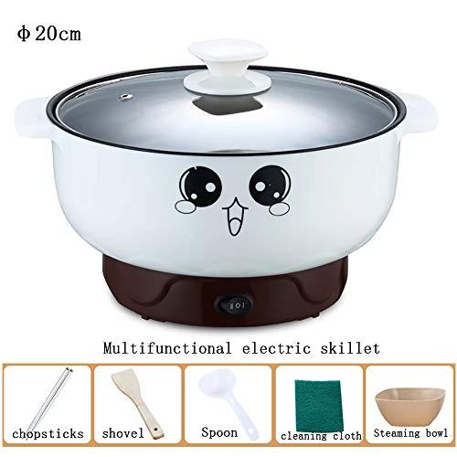 Kleine elektrische power-kooktoestel Mini Hot Pot multifunctionele elektrische kookplaat Pot slaapzaal pan noedelpot