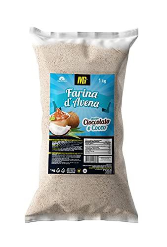 MG Food Farina di Avena Aromatizzata al Gusto Cioccolato e Cocco 1kg