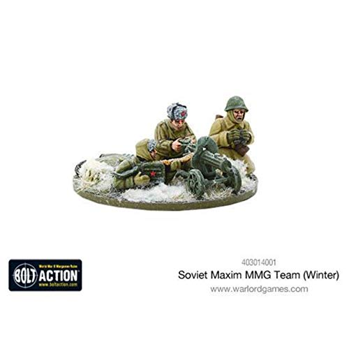 Bolt Action Soviet Maxim Mmg Team (winter) Blister - Metal